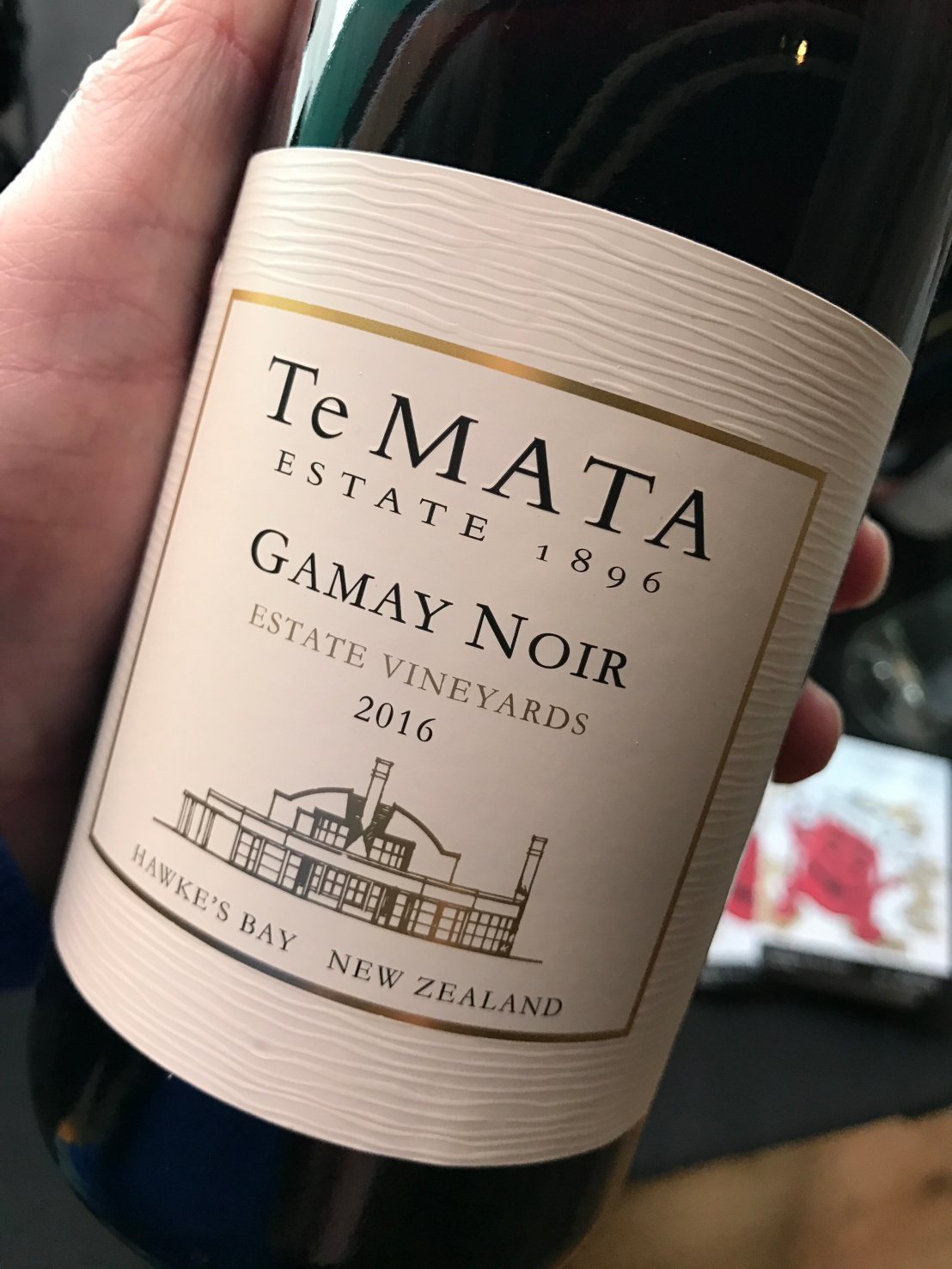 Wine Review: 2016 Te Mata Gamay Noir