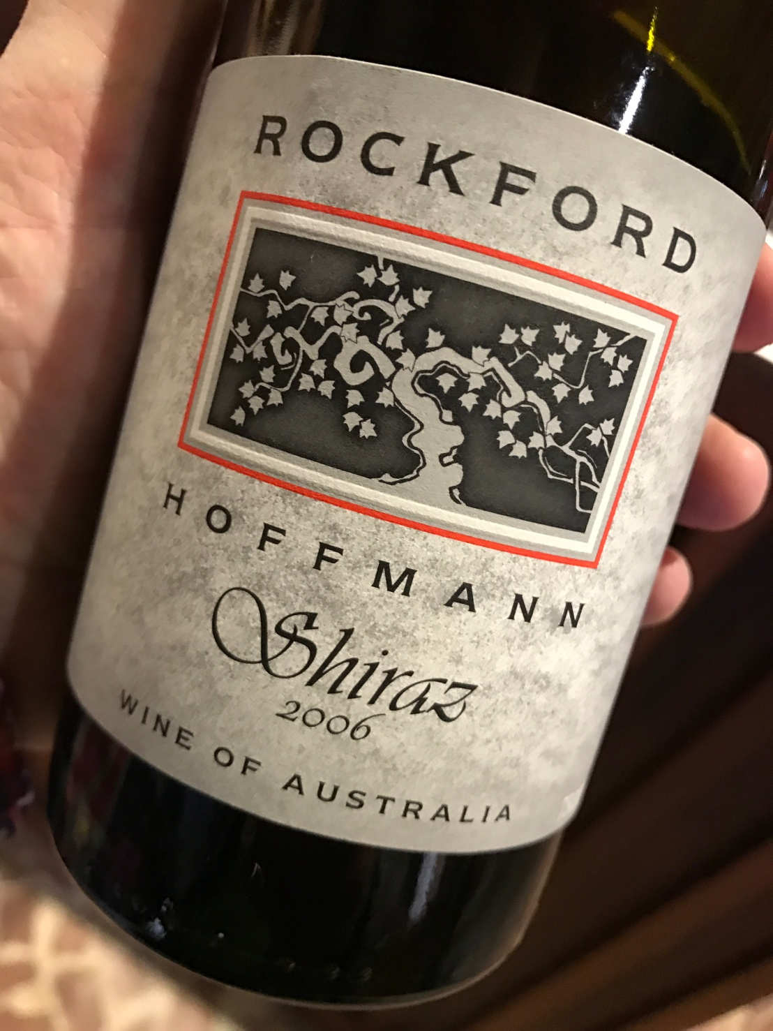 Wine Review: 2006 Rockford SVS Hoffmann Shiraz and 2006 Rockford SVS Flaxman Valley Shiraz
